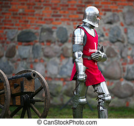 Knight - The medieval knight. Show in Kaunas