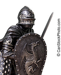 Medieval Knights - Various images depicting re-enactments of medieval period ways of life