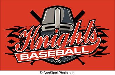 knights baseball - tribal knights baseball team design in...