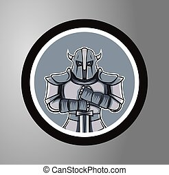 Knights Circle sticker