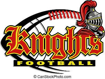 knights football design