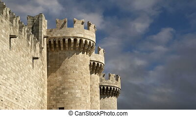 Knights Grand Master Palace,Rhodes - Rhodes Island, Greece,...