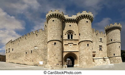 Knights Grand Master Palace,Rhodes - Rhodes Island, Greece,...