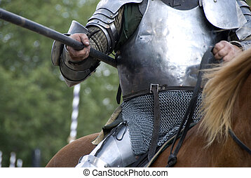 Knight\\\'s Lance - Stock photo of a close up of a...