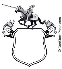 Knights tournament crest