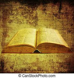 kniha, dávný