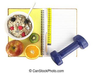 kniha, ?healthy, eating?