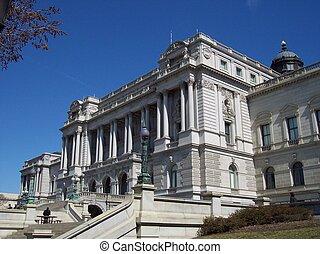 knihovna, kongres