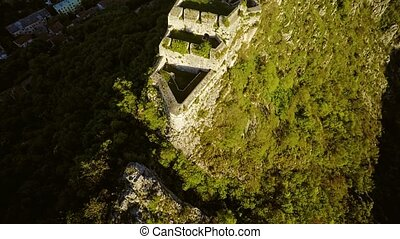 Knin Fortress in Croatia