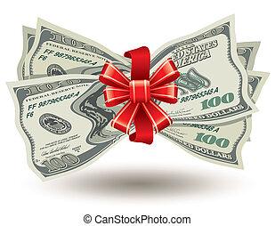 knippe, tät, dollars