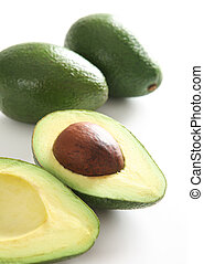 knippen, fris, avocado