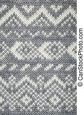 Knit fabric background - Closeup of knit fabric background...