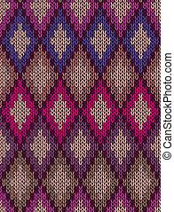 Knit woolen seamless background