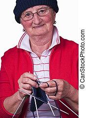 knits, nagyanyó
