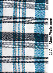 Knitted colour plaid fabrics