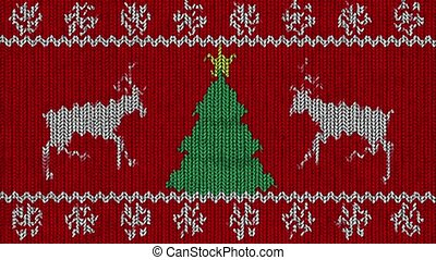 Knitted Holidays Loop