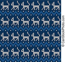 knitted seamless pattern with cats knitwear pattern fabric