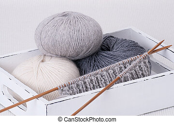 Knitting Accessories. Yarn Balls - Knitting Accessories,...