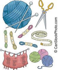 Knitting Elements