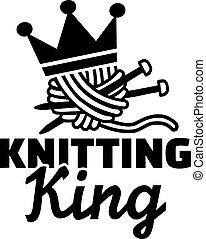 Knitting king