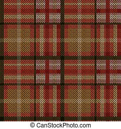 Knitting seamless pattern - Knitting seamless vector pattern...