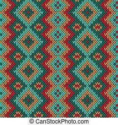 Knitting seamless variegated pattern - Knitting seamless...