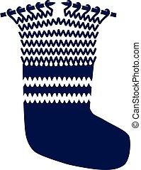 Knitting socks