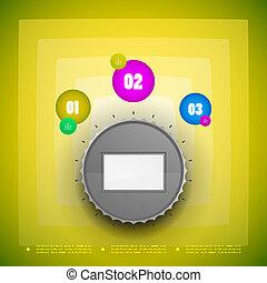 Knob option switch modern template