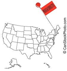 Knob Pin Massachusetts