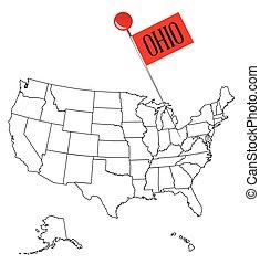 Knob Pin Ohio