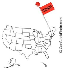 Knob Pin Vermont