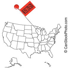 Knob Pin Wisconsin