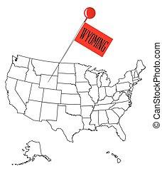 Knob Pin Wyoming