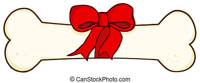 knochen, hund, geschenk