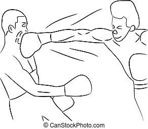 knock-out, puñetazo