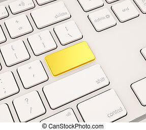 knoop, computer toetsenbord