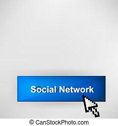 knoop, netwerk, sociaal
