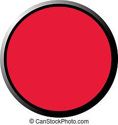 knoop, rood, 3d