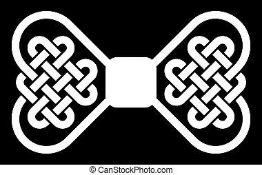 Knot in shape of bow tie (Celtic)