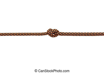Knot isolated on white background