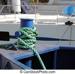 Knot on the boat