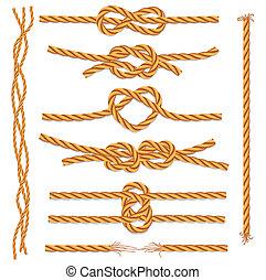 knots, seile, satz