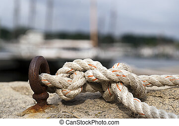 Knotted Nautical Rope
