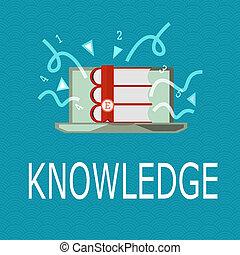knowledge., 情報, ビジネス, 概念, 技能, 写真, 提示, 経験, 執筆, showcasing, によって, 手, 事実, acquired, 教育, ∥あるいは∥