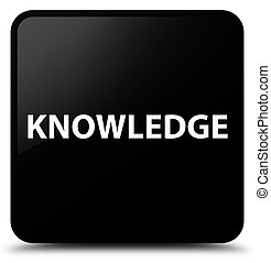 Knowledge black square button