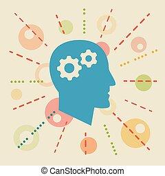 Knowledge. Concept illustration
