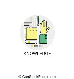 Knowledge Elearning Education Online Icon