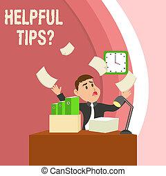 knowledge., informatie, gegeven, concept, behulpzaam, zijn, tekst, raad, question., betekenis, schrijvende , geheim, tips, handschrift, of