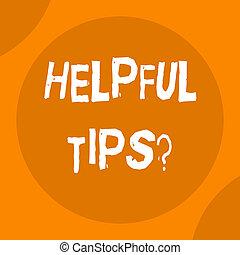knowledge., informatie, gegeven, of, behulpzaam, zakelijk, zijn, foto, raad, question., schrijvende , geheim, tekst, conceptueel, tips, hand, het tonen