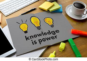 knowledge is power Strategy Plan Teamwork education Training